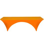 Conference Tablecloth Stretch Cover Bright Orange