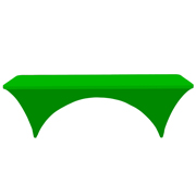 Conference Tablecloth Stretch Cover Neon Green