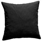 Cotton Cushion Cover Black