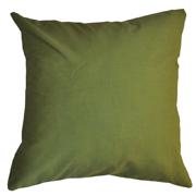 Cotton Cushion Cover Plain Avo Green