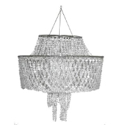 Crystal Beaded Lampshade