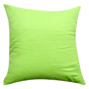 Cushion Cover Lime Green Twill