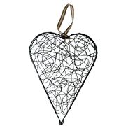 Decorative Heart Wire Small