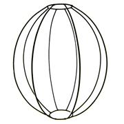 Egg Lantern Frame