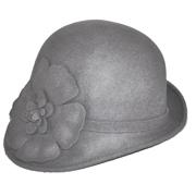 Grey Felt Hat A
