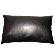 High Gloss PVC Cushion Cover Grey