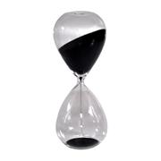 Hourglass Black Sand