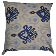 Ikat Stone and Blue