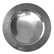 Metal Underplate Vintage Engraving