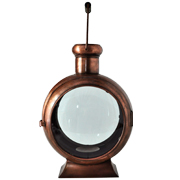 Nautical Copper Lantern L