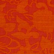 Orange Floral Indian Runner