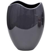 Oval Wave Neck Vase