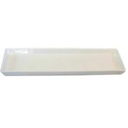 Platter Rectangle White Small