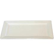 Platter Rectangle White Medium