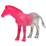 Rubber Animal Horse Small