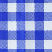 Runner Gingham Blue Medium Square