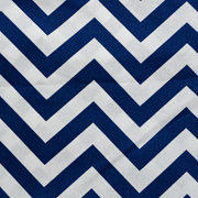 Runner Royal Blue and White Chevron