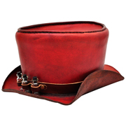 Steampunk Top Hat with Bottle Detail