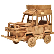 Straw Land Rover