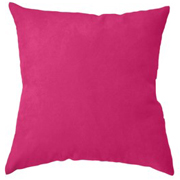 Suede Cushion Cover Big Beetroot Pink