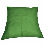 Suede Cushion Cover Big Olive Green