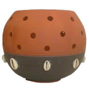 Terracotta African Lantern