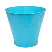 Tin Bucket Medium Assorted Colours