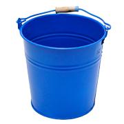 Tin Bucket Small Blue