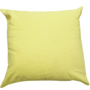 Twill Cushion Cover Baby Yellow