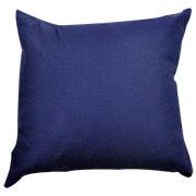 Twill Cushion Cover Navy Blue