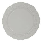 Vintage Style Platter Off White