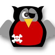 Pirate Owl Black