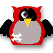 Pirate Owl Red