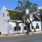 Cape Dutch style house in Stellenbosch
