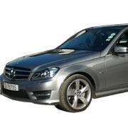 Grey Mercedes Sedan C300