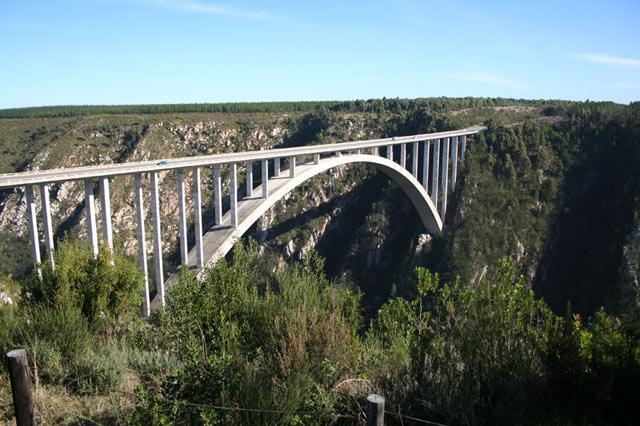 Bloukrans Bridge Bungy Jump