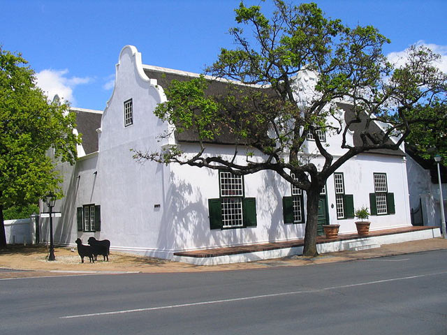 Cape Dutch style house in Stellenbosch